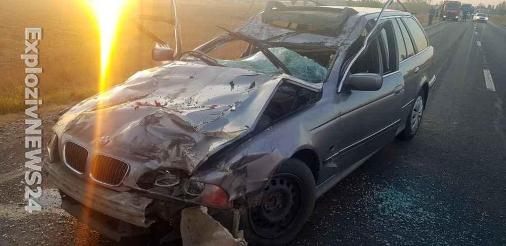 Grav accident rutier pe E70, la Roșiorii de Vede