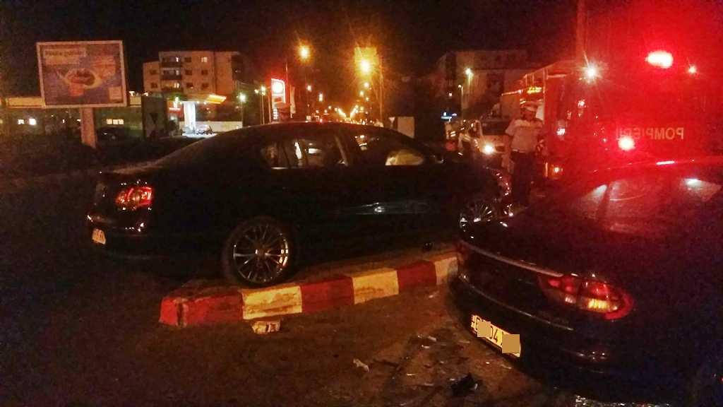 Un bărbat a ajuns la spital în urma unui accident în Alexandria