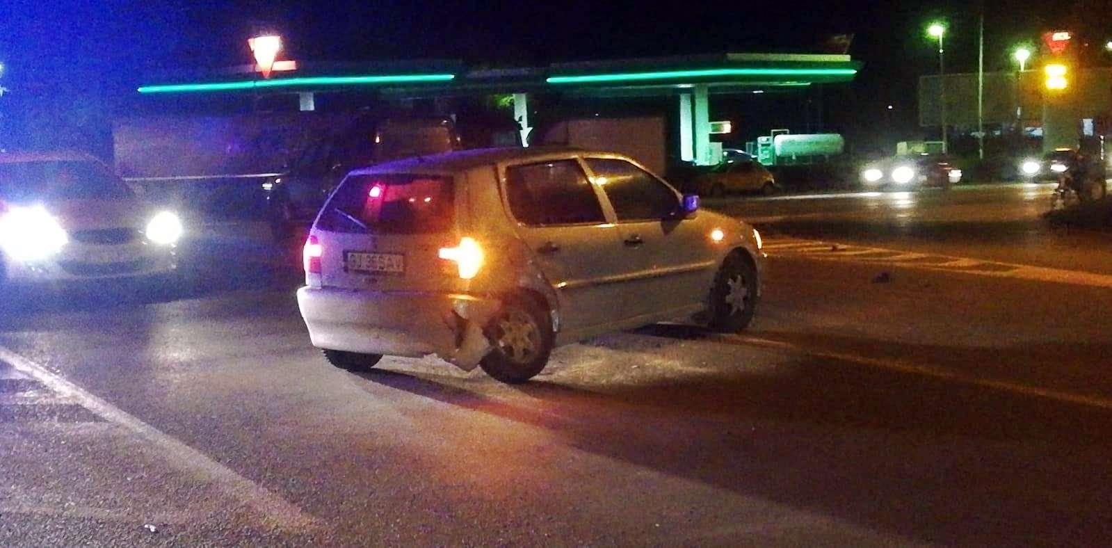 Accident la ieșire din Alexandria. O șoferiță a sărit din mașină,un copil a ajuns la spital 1
